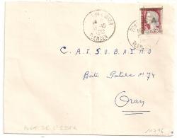 EA Sur DECARIS, PONT DE L'ISSER TLEMCEN Algérie Sur Enveloppe. 15/10/1962. - Algérie (1962-...)