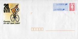 """PAP De 1997 Avec Timbre """"Marianne Du Bicentenaire"""" Et Illustration """"24H VTT - Canisy 21-22 Juin 1997"""" - Listos A Ser Enviados: Otros (1995-...)"""
