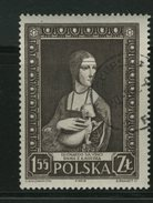 POLSKA -  LEONARDO DA VINCI - DAMA CON ERMELLINO - Celebrità