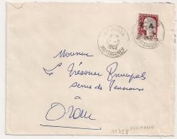 EA Sur DECARIS, INKERMANN MOSTAGANEM Algérie Sur Enveloppe Pour Oran. 12/9/1962 - Algérie (1962-...)