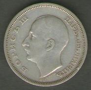 BULGARIA 50 LEVA 1930 AG SILVER BORIS III - Bulgaria