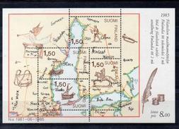 FINLANDE  Série De Timbres Neufs ** De 1985  ( Ref 4502 ) Cartographie