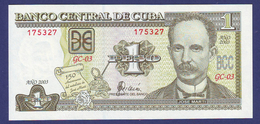 Cuba 2003 1 PESO UNC - Cuba