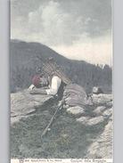 VAL BREGAGLIA COSTUMI Della Bregaglia Colori Farbkarte DONNA Si Sta Riposando Woman At Rest C. 1906 - GR Grisons