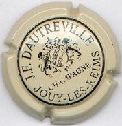 CAPSULE-CHAMPAGNE DAUTREVILLE J.F. N°01 Crème & Noir - Champagne