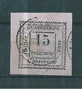 Guadeloupe Timbres Taxe  De 1884  N°8 Oblitéré  Tres Beau (cote 110€) - Guadeloupe (1884-1947)