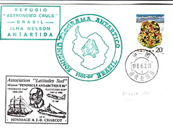 PHILATELIE POLAIRE BRASIL CHINA 28.2.86 - Timbres