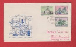 Tchécoslovaquie  --  Env De Smrzovka  Pour Wien--  10 /8/ 1960 - Cartas