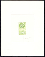 GABON - N° 213 - JEUX OLYMPIQUES - MEXICO 68 - Epreuve Vert Pâle, Signée Combet. - Verano 1968: México