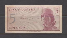 Bank-Indonesia-5-Lima-Sen-1964 - Indonesia