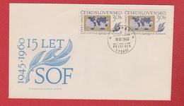 Tchécoslovaquie  --  Env Praha  --    18/9/1960 - Cartas