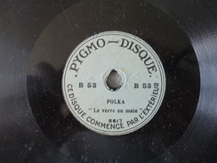 Pygmo Disque - Polka Le Verre En Main Valse Le Beau Danube Bleu - Formatos Especiales