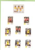 Equipe MANN : 16 Images : Van Springel , Huysmann , Vannitsen , Etc...  - Lire Descriptif  - CYCLISME - 2 Scans - Cycling