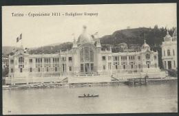 TORINO ESPOSIZIONE  1911 PADIGLIONE  URUGUAY   - Obf1050 - Ausstellungen