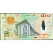 TWN - PAPUA NEW GUINEA 37a - 100 Kina 2008 UNC Hybrid Polymer 35th Ann. Bank Of PNG - Papua Nuova Guinea