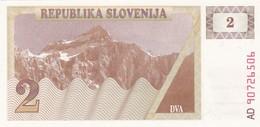 SLOVENIA  2 TOLARJEV    1990  FDS - Slovenia