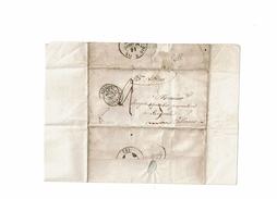 CTN46 LAC PAR BATEAU A VAPEUR MARSEILLE / SISTERON MARS 1850 - Poste Maritime