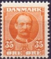 DENEMARKEN 1907-12 35öre Frederik VII PF-MNH