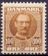 DENEMARKEN 1907-12 100öre Frederik VII PF-MNH
