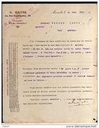 FACTURE 1913 VENTE EPICERIE HUILE DE COTON G.HAURI MARSEILLE (13) - Alimentaire