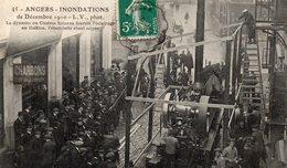 Inondations Décembre 1910 Cinéma Kétorza LV Phot - Angers
