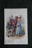 """Carte Publicitaire - Collection De La Musculosine , BYLA : """" Histoire Du Costume """" - Seigneurs Et Dame Du XV ème Siècle. - Publicités"""