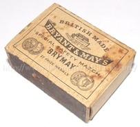 Boite D'allumettes Vide GB WW2 BRYANT & MAY'S Anglais - 1939-45