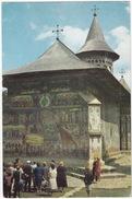 Suceava - Biserica Fostei Manastri Voronet ( = Romania's Sistine Chapel) - (Roumenie) - Roemenië