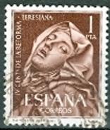 Spanien Mi. 1315 1 Pts. Gest. Madonna Teresiana Reforma - 1961-70 Gebraucht