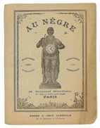 CATALOGUE AU NEGRE 1893 PARIS BIJOUTERIE ORFEVRERIE HORLOGERIE JOAILLERIE MONTRES GOUSSET - France