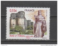 FRANCE / 2009 / Y&T N° 4326 ** : Roi René 1er D'Anjou - Gomme D'origine Intacte - Frankreich