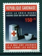 Gabon, 1997, Red Cross, MNH, Michel 1367