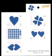Finland - Postfris / MNH - Booklet Blauw Hart 2017 NEW!!