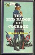 En Anglais Stephen CRANE The Red Badge Of Courage  (la Conquête Du Courage) - Novelas