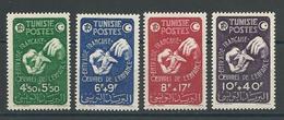 TUNISIE Scott B99-B102 Yvert 320-323 (4) * Cote 8$ - Tunesien (1888-1955)