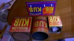 0001kub) Lot De 3 Boites Kub  + Une Plaque Porte Serviettes - Boxes