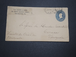 ETATS UNIS - Entier Postal De Philadelphie En 1889 Pour Le Venezuela - A Voir - L 6095