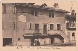 15 - AURILLAC - La Maison Natale De Paul Doumer - Café Des Amis Maison Roques - Aurillac