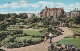 Carte Vers 1970 SOUTHSEA / THE ROCK GARDENS - Portsmouth