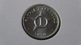 Cuba - 1970 - 1 Centavo - KM 33.1 - XF - Look Scan - Cuba