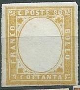 Sardegna, Bolaffi. 14 B Firmato Raybaudi (Sass, 3000 E) - Sardaigne