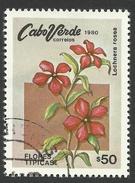 Cape Verde, 50 C. 1980, Sc # 416, Used. - Cape Verde