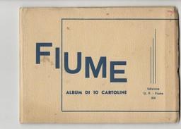 Fiume Rijeka Karnet Of Postcards (hr379) - Croatia
