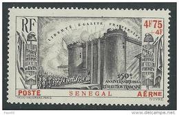 SENEGAL  P.A. N° 12 X 150ème Anniversaire De La Révolution Française, Trace De Charnière Sinon TB