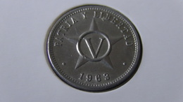 Cuba - 1963 - 5 Centavos - KM 34 - VF - Look Scan - Kuba