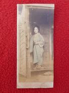 JAPON GEISHA  PHOTO  14 X 6 - Métiers