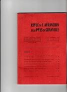 REVUE DE L'AVRANCHIN ET DU PAYS DE GRANVILLE (Avranches) N°296 - Livres, BD, Revues