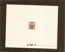 Réunion - Epreuve De Luxe Taxe  Numero 38 - Réunion (1852-1975)