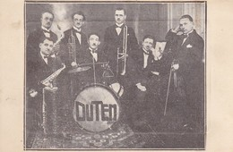 33---BORDEAUX-BASTIDE----OLD-JAZZ-DUTEN----roger DUTEN---dancings-mariages-concerts-brasseries-soirées---voir 2 Scans - Musik Und Musikanten