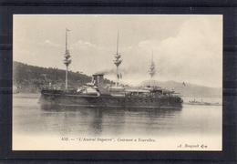 Marine Militaire Française - Amiral Duperré (cuirassé à Tourelles) - Guerre